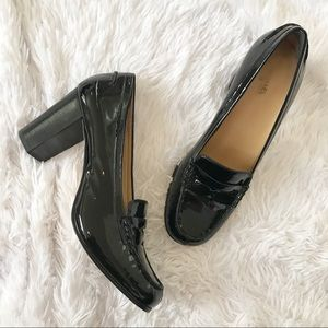 Michael Kors Bayville Patent Leather Loafer Pump